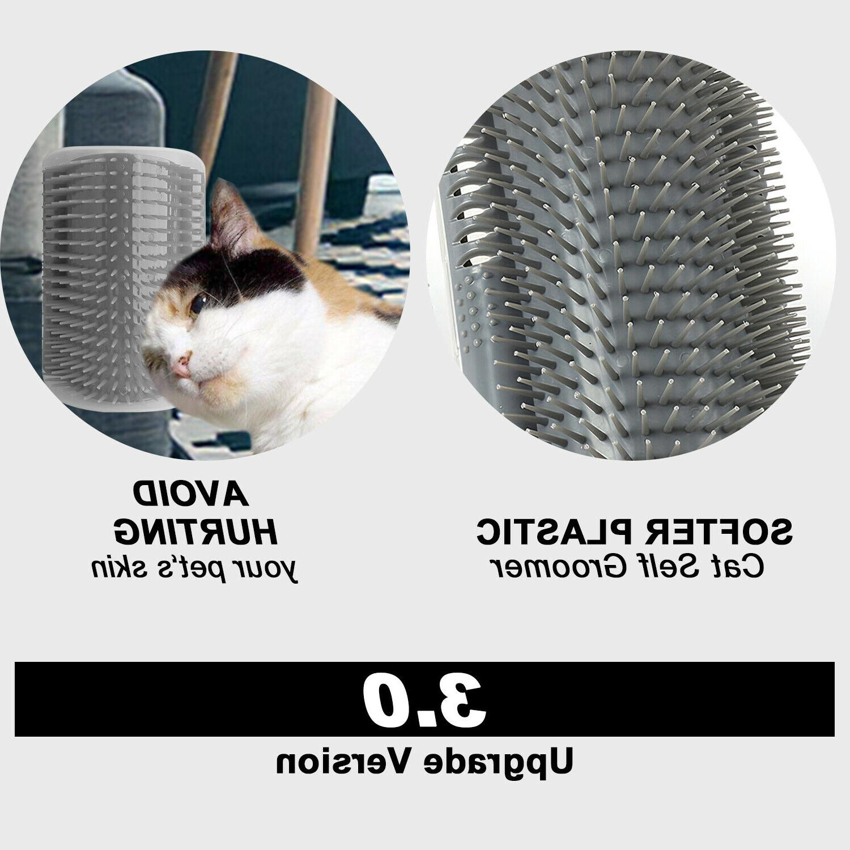 Cat Self Groomer Brush Massage Comb With Catnip