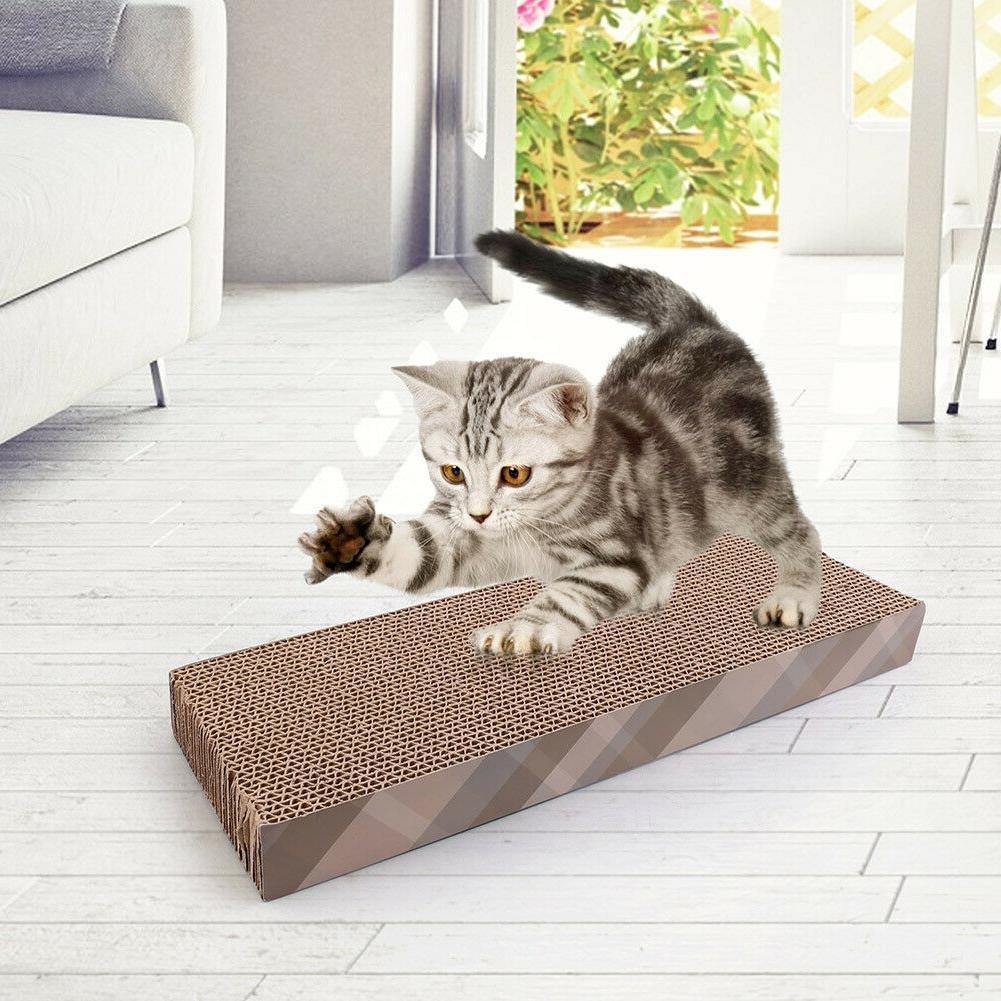 Cat Scratch Scratching Post Kitty Scratcher Bed