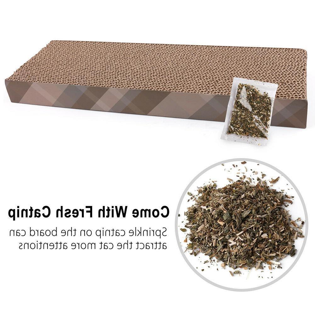 Cat Pad Scratching Post Lounge Scratcher Mat Bed Furniture