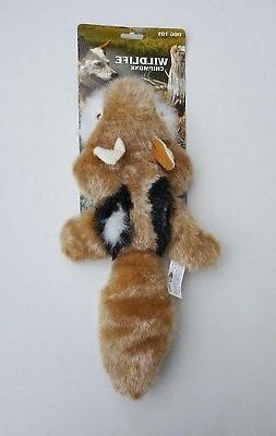 """Chipmunk Plush Squeaking Dog Toy From JAKKS Pets ~ Large 17"""""""