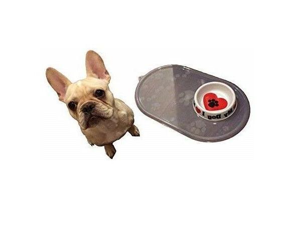 clearpaw place mat dog cat pet dish