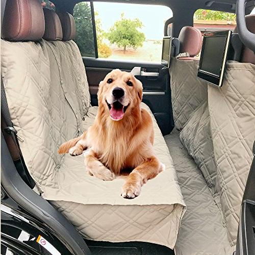 """Formosa Padded Dog Seat Cover Fabric and Backing Best Car Truck and SUV with Your 56"""" Wx94 L,"""