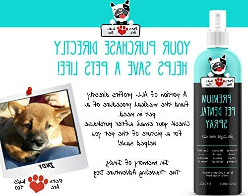 Premium Pet : Eliminate Bad & Naturally Plaque, & Brushing! In or Add to