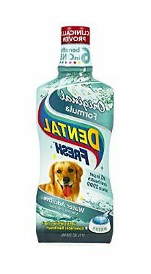 Dental Fresh Water Additive for Dogs & Pets Clinically Prove