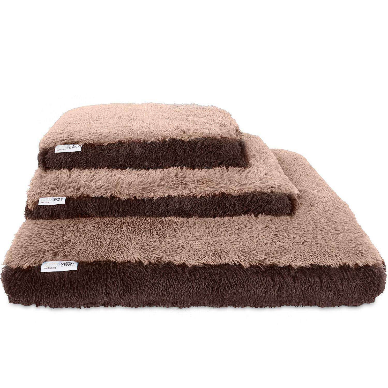 Dog & Cat Bed Bolster Bedding Large Beige