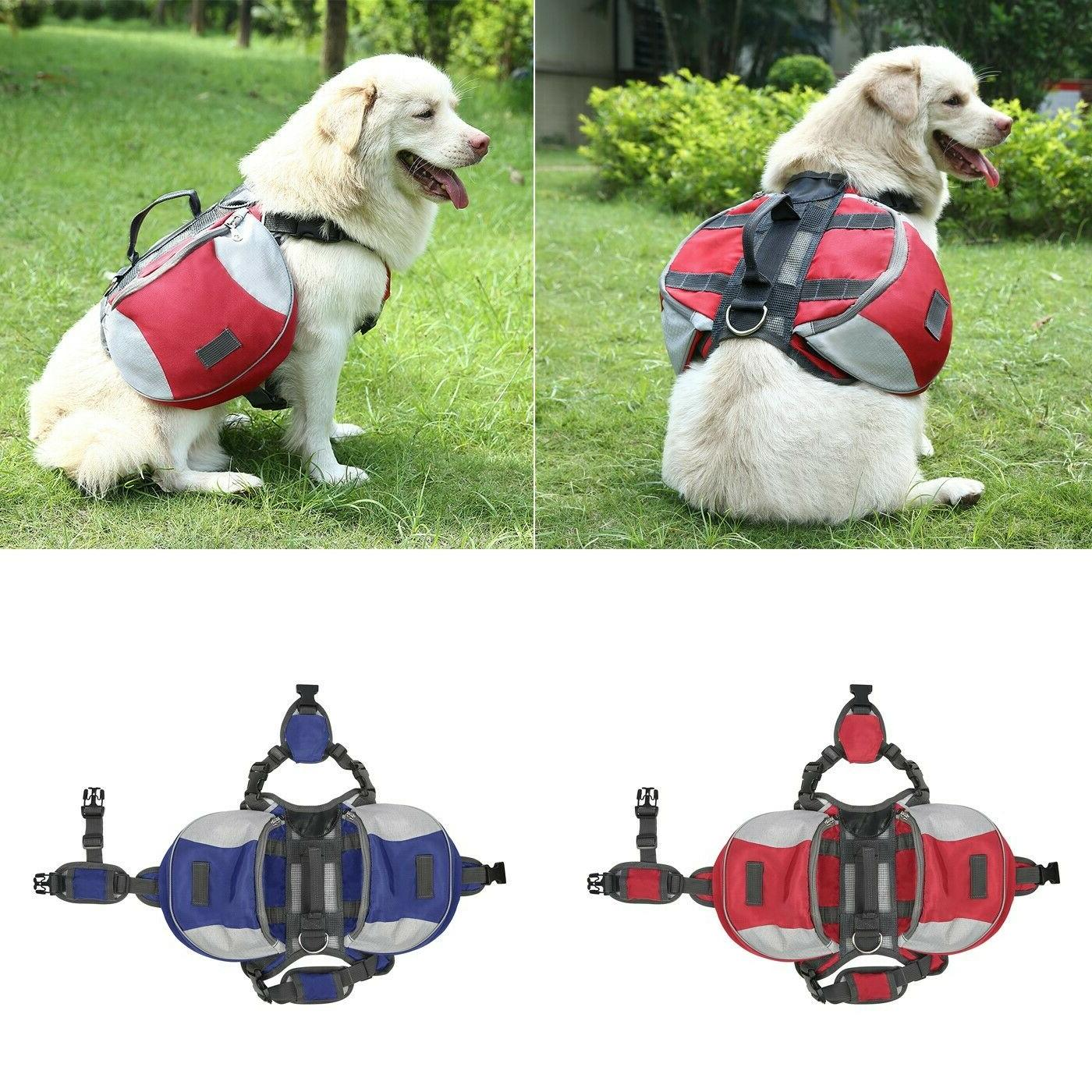 dog backpack camping hiking travel gear