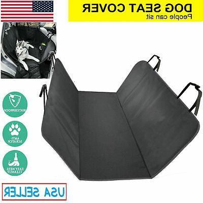 Dog Car Covers 100% Hammock Seat Back Rear Mat Pad