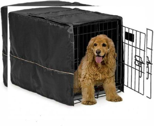 dog crate cover 30 inch black