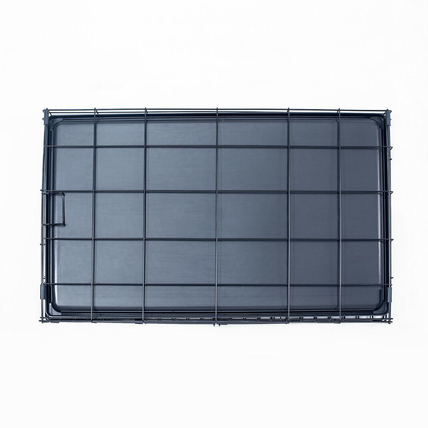 """Pet Cage With Tray Black 24""""30""""36""""42""""48"""""""