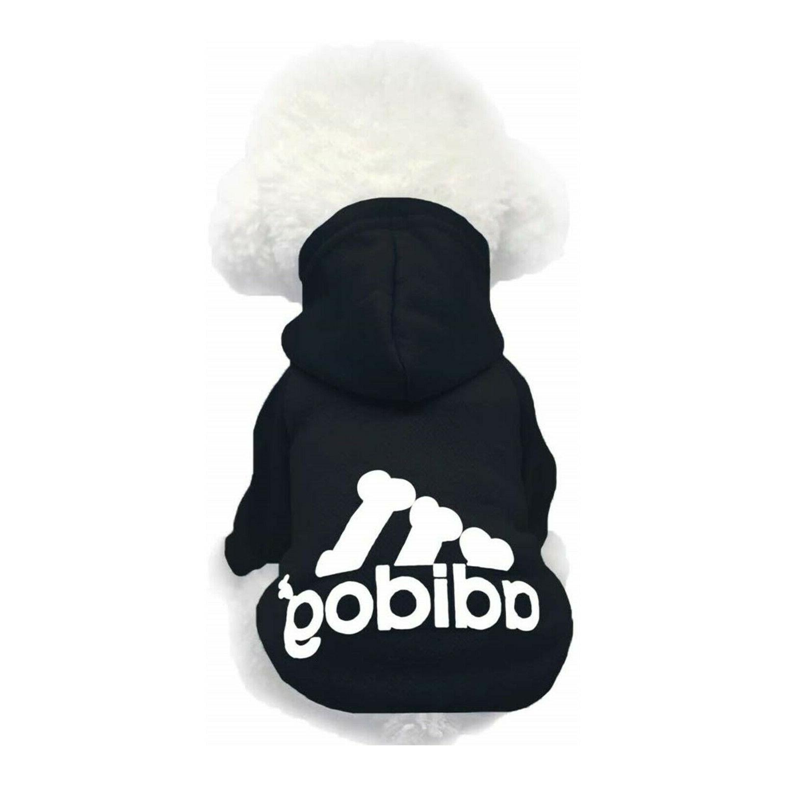 Adidog Legs Jumpsuit Puppy Coat Sweatshirt