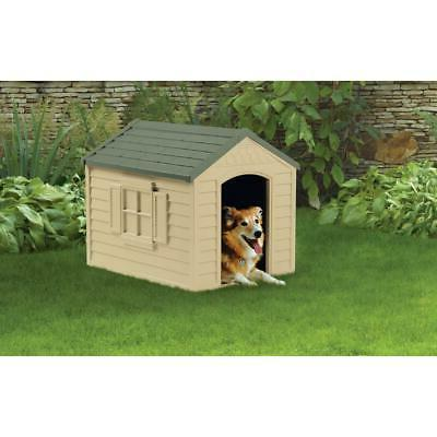 Dog House Outdoor for Small Plastic Pet Gift NEW