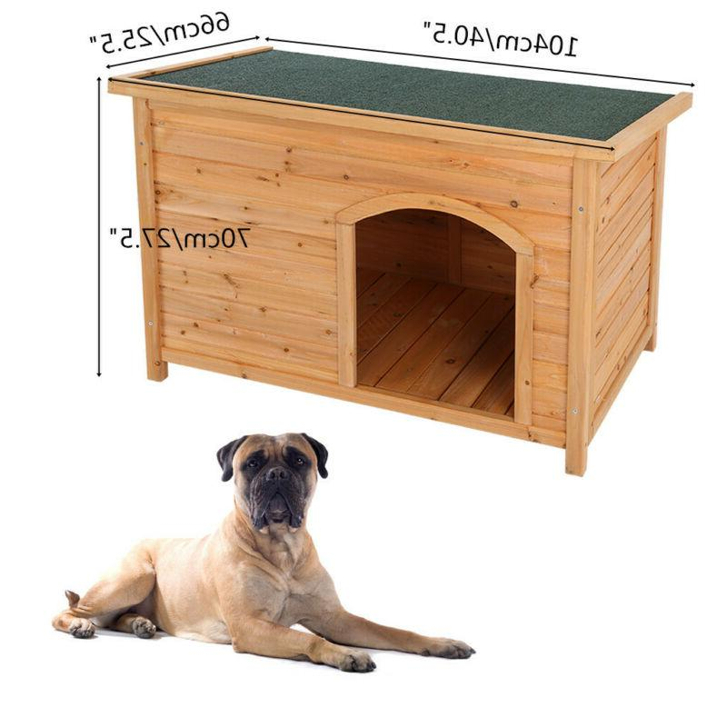 Dog House for Small to Wooden Pet NEW