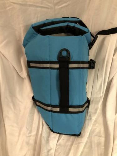Vivaglory Dog Life Jacket Life Preserver BLUE MEDIUM