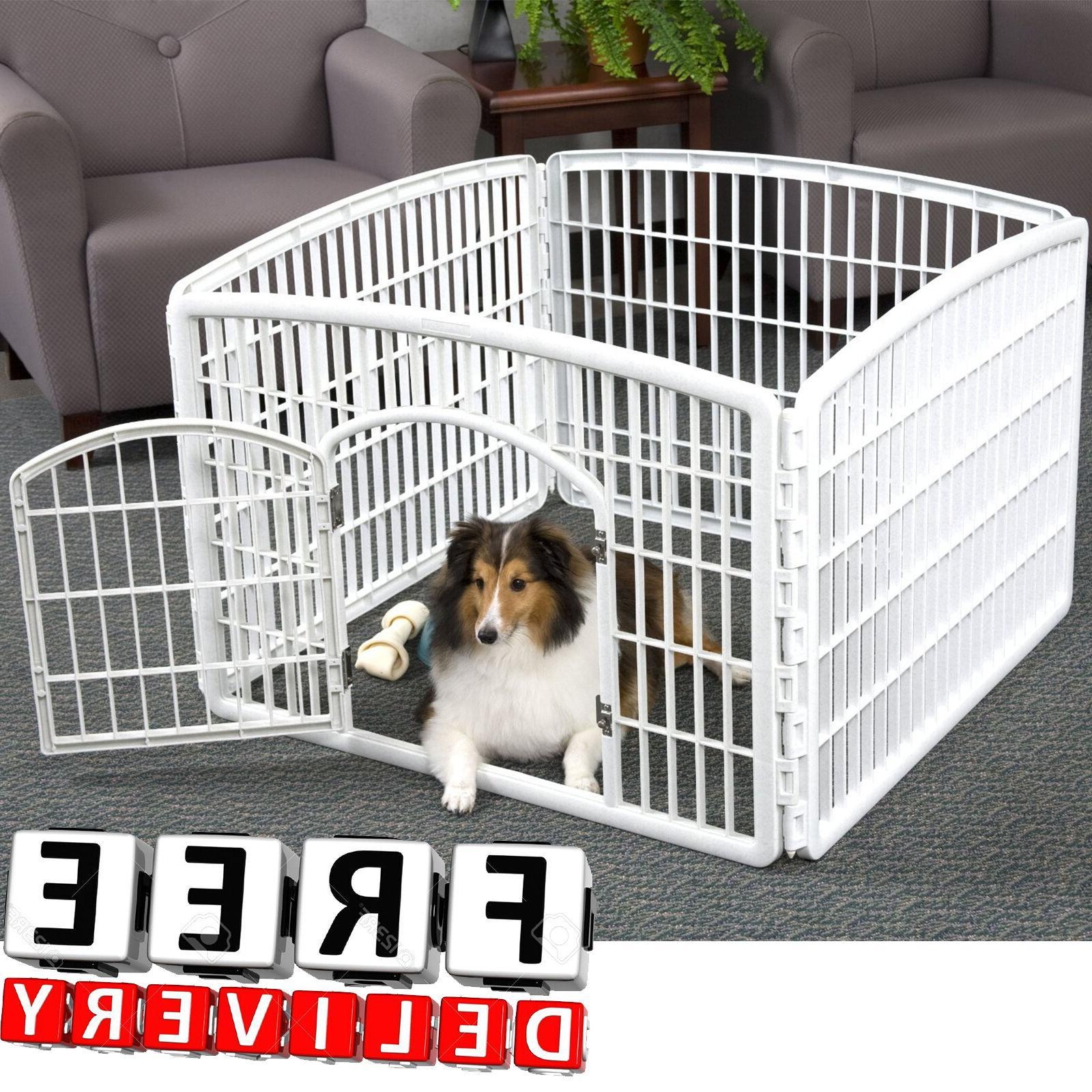 dog pen kennel playpen outdoor indoor small