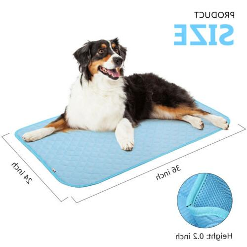 Dog Pet Ice Mat For Dog Cat Comfort Chilly Beds