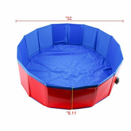 Dog Cat Pool Pet Collapsible PVC Tub