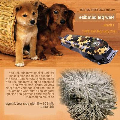 Dog Shaver Noise Clippers Set