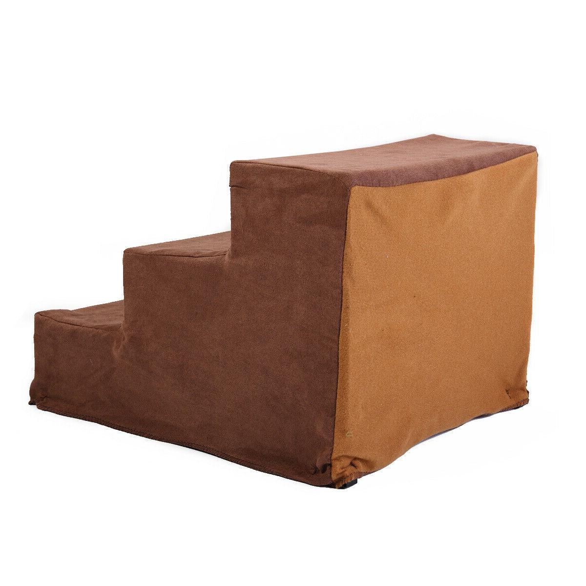 Dog Bed 3 Steps Stairs Ramp Ladder