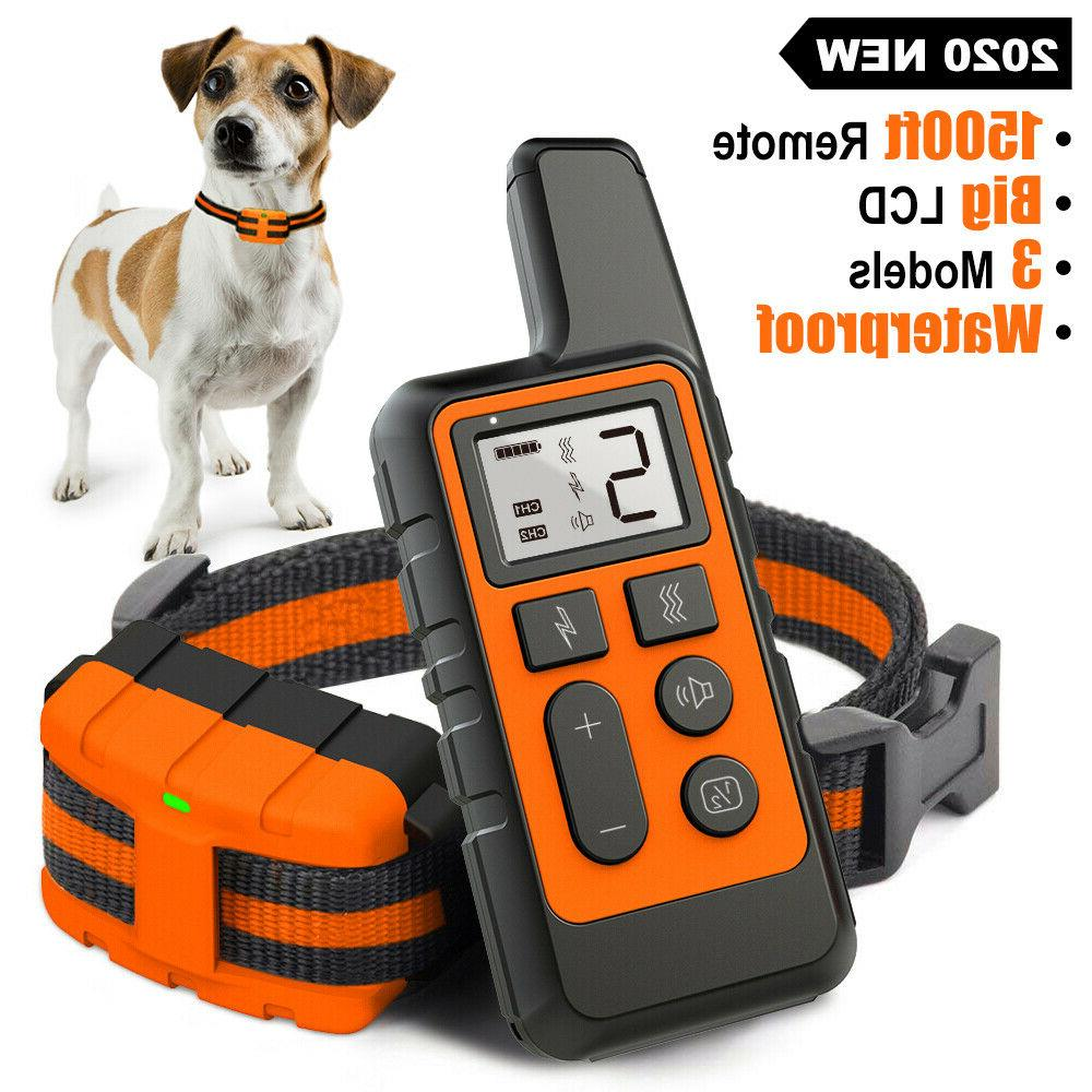 dog training collar rechargeable remote control electric