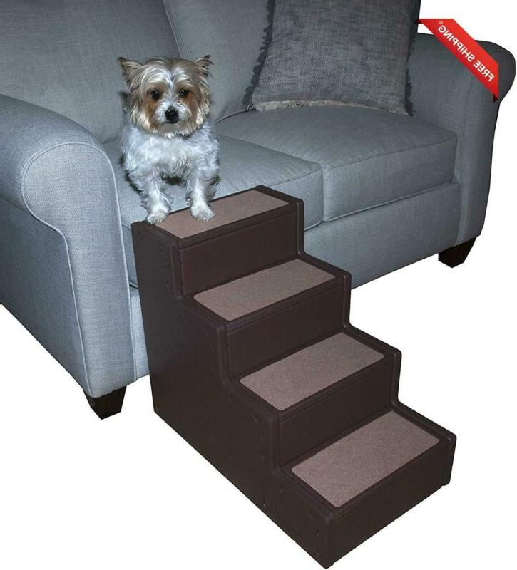 Pet Gear Easy Step Iv Pet Stairs, 4-Step For Cats/Dogs, Port