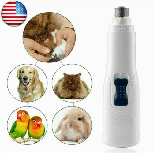 electric pet nail grinder safe claw grooming