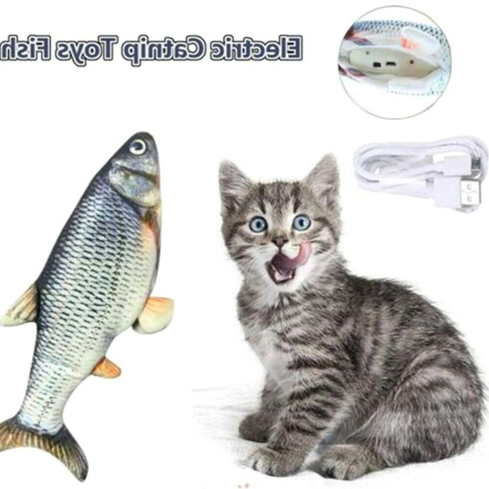electronic pet cat toy electric usb charging
