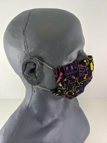 Handmade Face Mask Washable Pocket Elastic Dogs