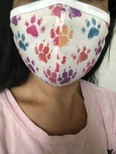 Face cloth washable, 100% Puppy Paw Pets