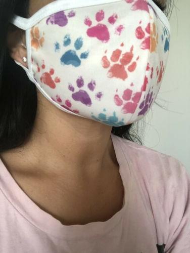 face mask cloth washable 100 percent cotton