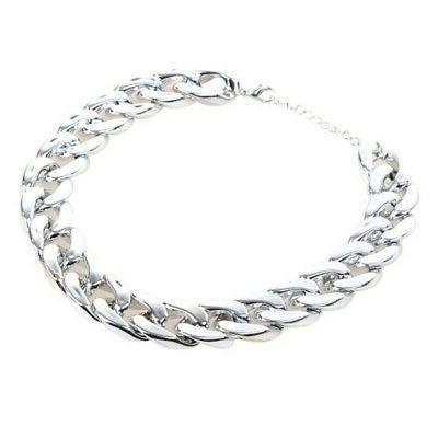 Fashion Dog Curb Cuban Chain Necklace USA