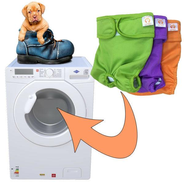 Female Diapers Washable & by IS CARING Pack 3