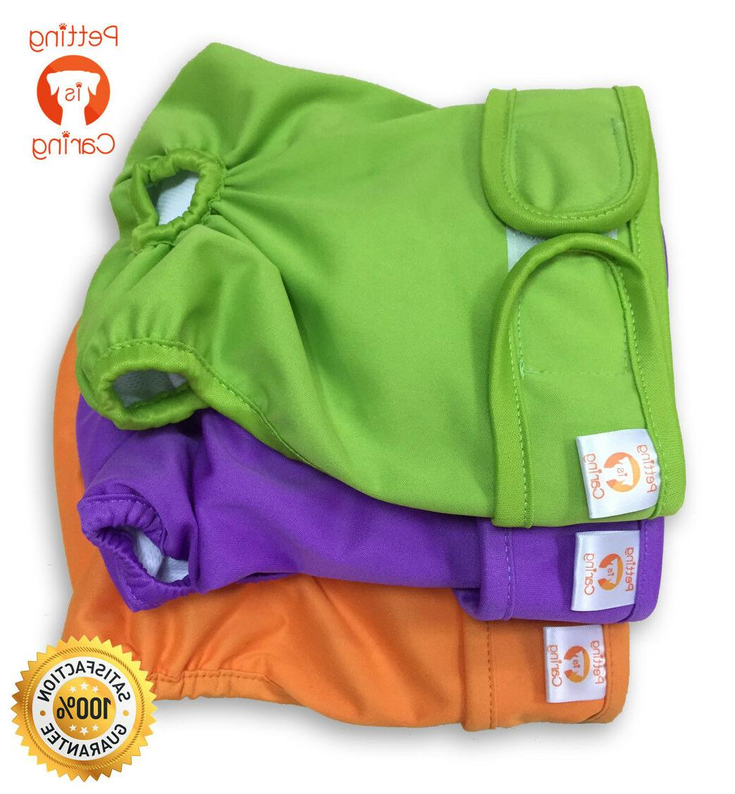 female dog diapers washable and reusable by