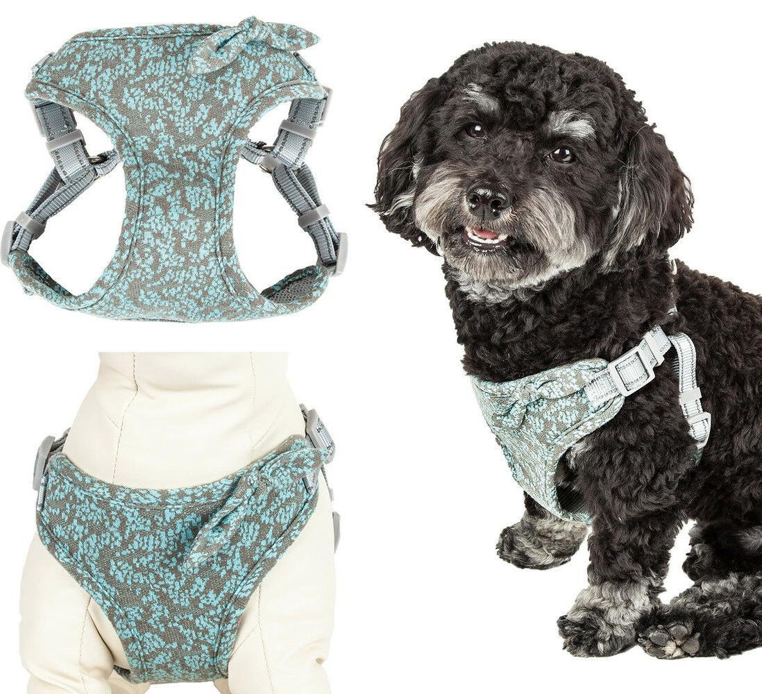 fidomite mesh reversible and adjustable dog harness