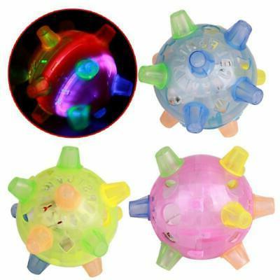 flashing dog ball for games kids ball