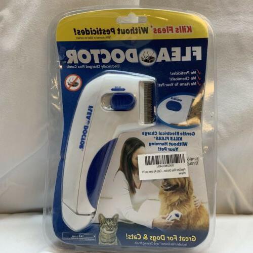 flea doctor electric dog comb brush cat