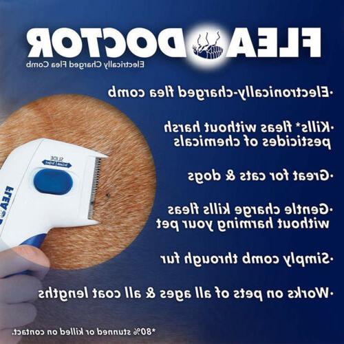 Flea Doctor Comb Brush Head Control NS