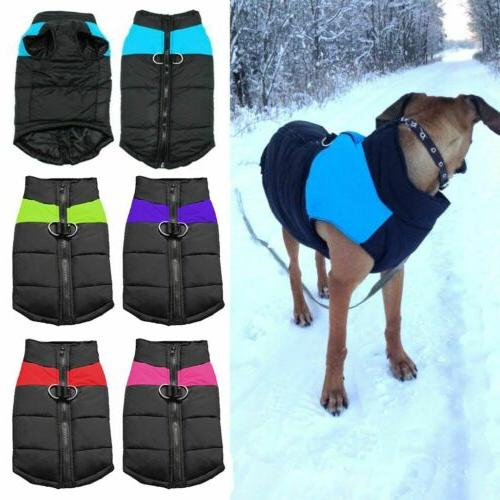 Pet Warm Clothes Winter Padded Small/Large