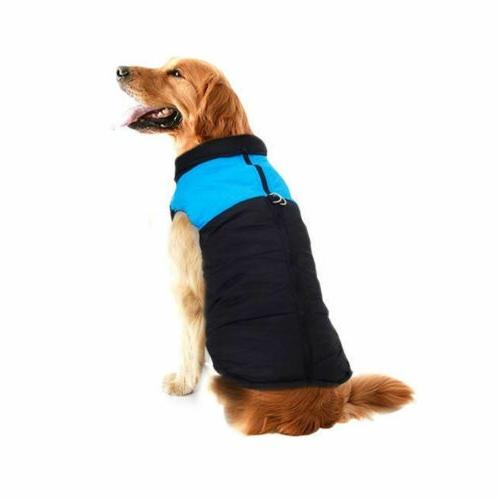 Pet Vest Warm Waterproof Padded