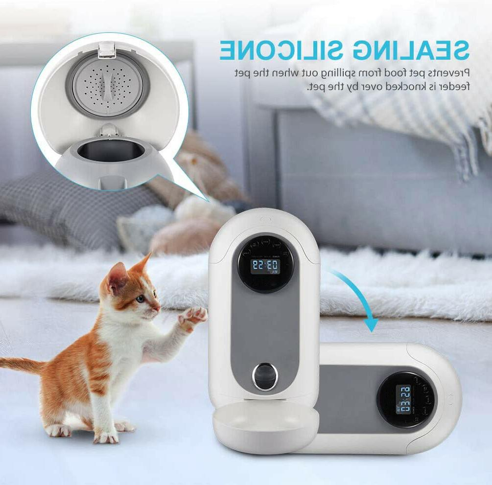 Food for and Pet Programmable Timer Voice