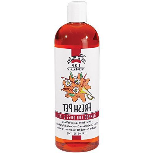 Top Performance Shampoo Tangles – pH Pet's Coat and Skin, Oz.