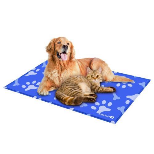 Gel Mat Dog Cat cooling Pad SUMMER LARGE US