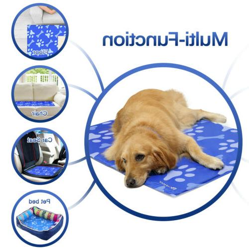 Gel for Dog Cat Pet Self cooling Cushion Pad SUMMER Bed LARGE US