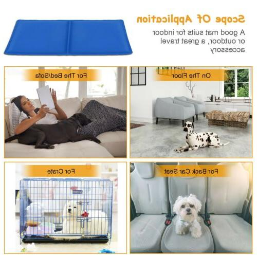 Gel Cooling Cushion Dog Summer Sleeping