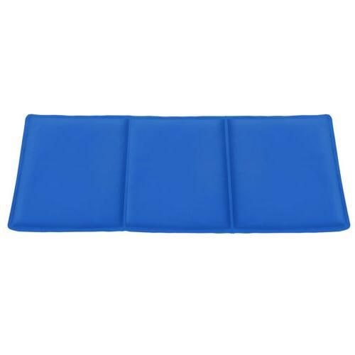 Gel Mat Self Cooling Pad Dog Cat Summer Sleeping Bed