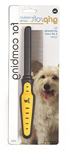 JW Pet Company GripSoft Medium Comb for Dogs