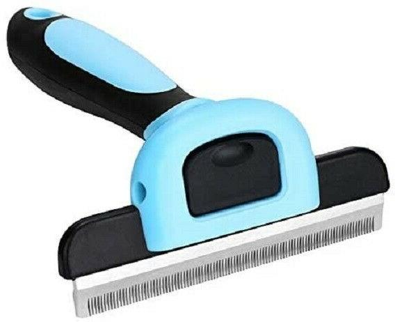 Grooming Brush Dog Deshedding Tool Rake Comb Reduce