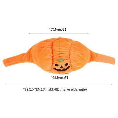 Halloween Pet Pumpkin Hat Halloween Headwear