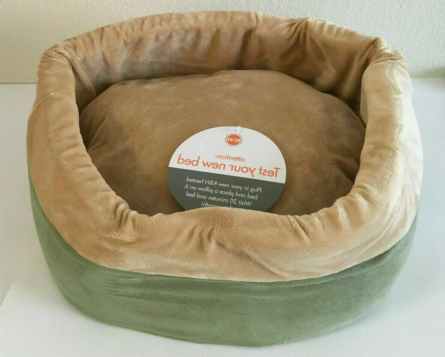 heated pet bed small dogs and cats