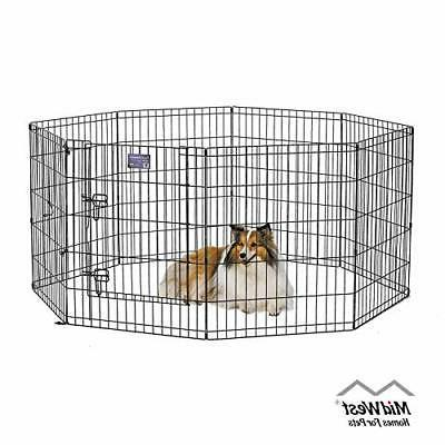 homes for pets folding metal exercise pen