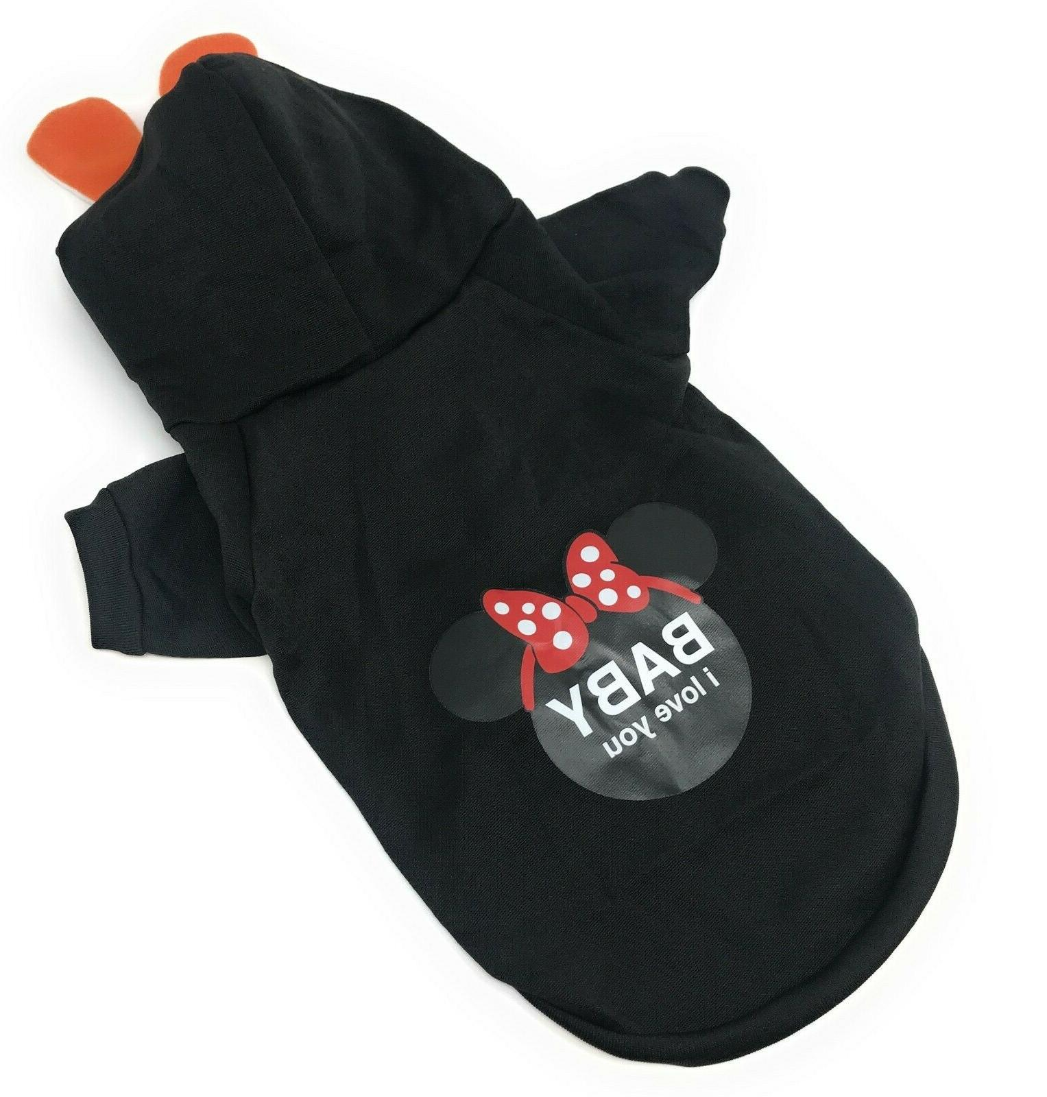 Hoodie Clothes Winter Coat Jacket for Dogs